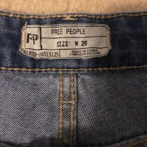 Free People Shorts - Free People Jean Shorts, size 26 women's